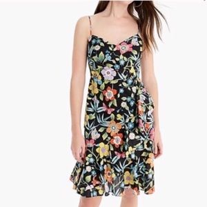 NWT J.Crew ruffle dress in Liberty Pavilion Floral